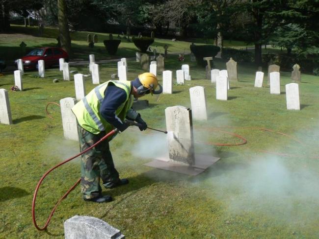 Czyszczenie grobów